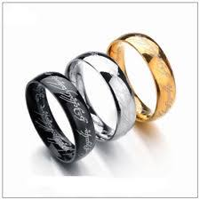 the one ring wedding band lord of the rings wedding band ebay