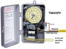 how to wire wh40 water heater timer at intermatic timer wiring