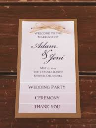 wedding programs rustic wedding programs diy hd images beautiful best 25 rustic wedding
