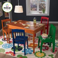 amazon com kidkraft euro honey table and 4 chairs toys u0026 games