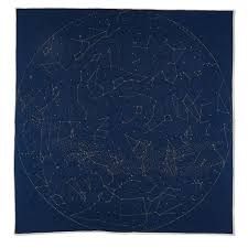 Map Of Constellations Constellation Quilt A Handmade Map Of The Stars Haptic Lab