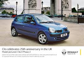 clio renault 2005 the renault clio 25 years myautoworld com