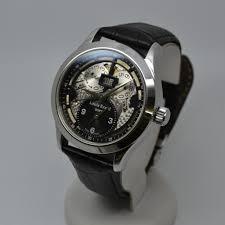 louis erard 1931 gmt skeleton 94205aa02 with 1 year warranty