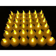 fake tea light candles flameless led tea light candles battery powered unscented tealight