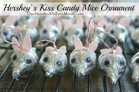 easy crafts for hershey s mice