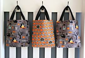 trick or treat bags trick or treat bag pattern the cottage