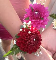 wrist corsages for homecoming corsages homecoming 13 dahlia wedding bouquets