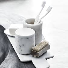 marble toothbrush holder the white company us shopping from the