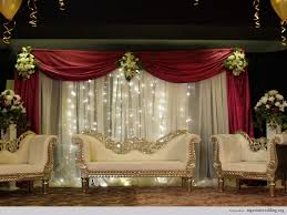 wedding world indian wedding stage decoration