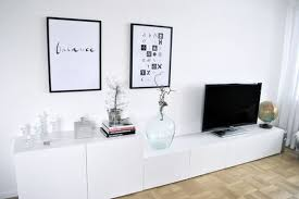 Besta Hacks Besta Ikea Mueble Tv Bajo Decoración 15 Composiciones De