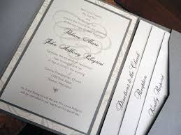 expensive wedding invitations pocket invitations baltimore wedding invitations baltimore