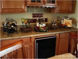 themed kitchen wine decor for kitchen decorating your kitchen with a wine