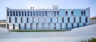 clean lines clean lines for the façade of the colegio mayor jaizkibel by