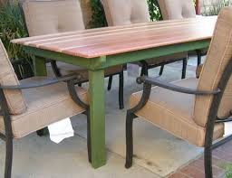 Patio Table Top by Refnishing A Table Top