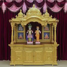 swaminarayan wooden home temple design buy wooden temple design