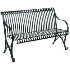 Wrought Iron Bench Seat Wrought Iron Outdoor Patio Bench Millennium Seating Usa
