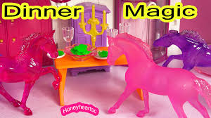 minnie whinnies breyer dinner magic stablemates mini whinnies