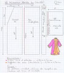 patron robe de chambre femme gratuit un kimono réversible la bobine deguisement robe