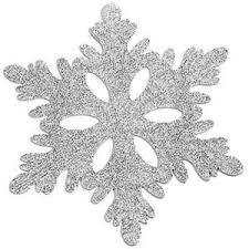 silver cracked snowflakes snowflake decorations silver