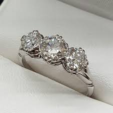 preowned engagement rings vintage pre owned
