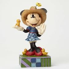 jim shore halloween figurines jim shore disney traditions farmer minnie country life figurine