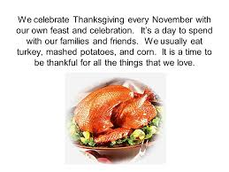 the story of the thanksgiving ppt