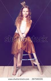 preteen girl modeling teen girl model little princess stock photo royalty free 267590195