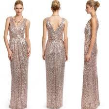 blingbling sequins long bridesmaid dresses 2016 sale cheap