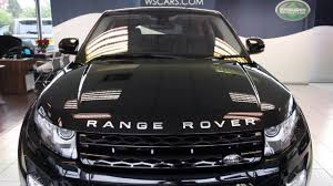 land rover range rover evoque 2014 2014 land rover range rover evoque black ebony leather youtube
