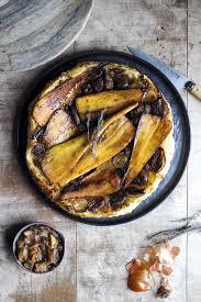 cuisine panais tarte tatin aux panais châtaignes et oignons grelots régal