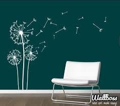 dandelion wall stickers by wallboss wallboss wall stickers