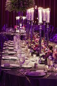 Purple Wedding Centerpieces Shades Of Purple Wedding Decorations 8685
