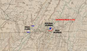 Map Of Chattanooga Tennessee by Grant Arrives U2013 How To Open The U0027cracker Line U0027 U2013 Civil War Daily