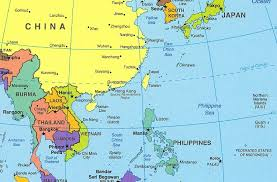 asia east map nighttime map of us all world maps