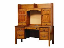 60 desk with hutch rivertowne 60 desk with open hutch top and cork board