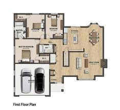 house planner color floor plan of a single family house house plans sober