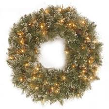 buy 24 battery pre lit wreaths from bed bath beyond