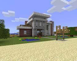 modern beach house design download minecraft project