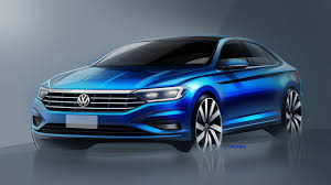 this is the 2019 volkswagen jetta the drive