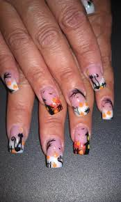 Typical Halloween Monsters by Halloween Nails U2013 53 Scary Nageldesigns For The Gruselparty