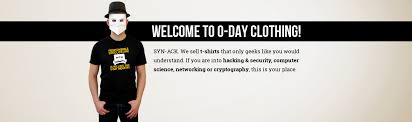 0 day clothing t shirts for hackers engineers and geeks