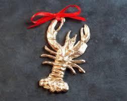lobster ornament etsy