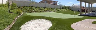 Backyard Putting Green Designs by Putting Green Gallery Quality Turf U0026 Landscape