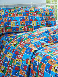 Snoopy Bed Set Flying Ace Percale Sheet Set All Cotton Snoopy Bedding