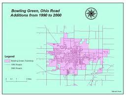 Bowling Green Ohio Map by Hirsh U0027s Gis Blog