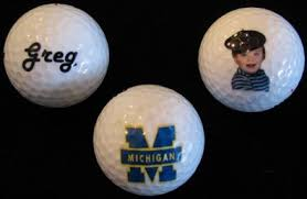 personalized brand golf balls customized in color