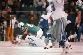 dallas cowboys game thanksgiving most memorable snow games in nfl history photos snowball a