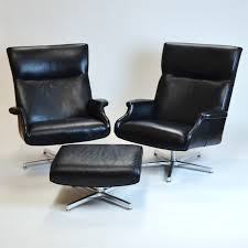 Room And Board Ottoman Pair Of Beau Leather Chair Matching Ottoman From Room Board