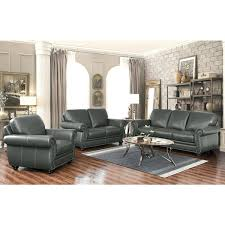 leather livingroom furniture grey leather sofa and loveseat living room furniture gray leather