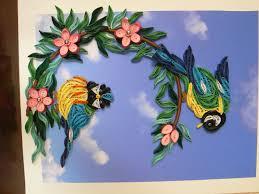 paper quilling birds tutorial mésanges quilled birds quilling birds pinterest quilling